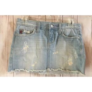 MISS ME Denim Skirt Womens